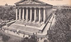 Paris vers 1904 La Madeleine- (lilas59) Tags: paris postcard oude postale carte ancienne oldpostcard lamadeleine postkaarten cartepostaleancienne