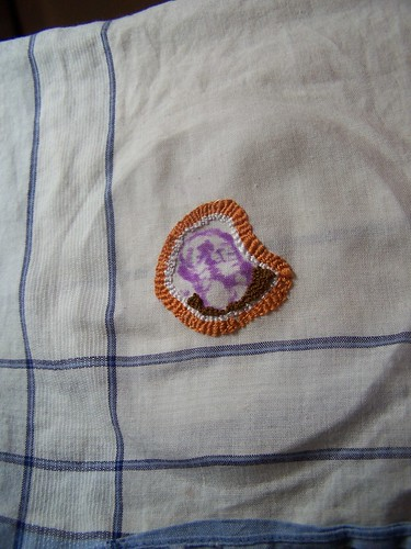 flu virus embroidery