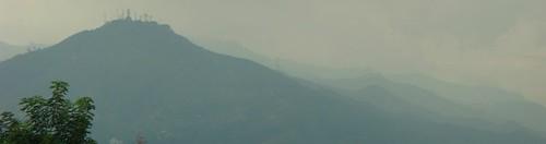 Cerro de los tres cruzes. Cali, Colombia.