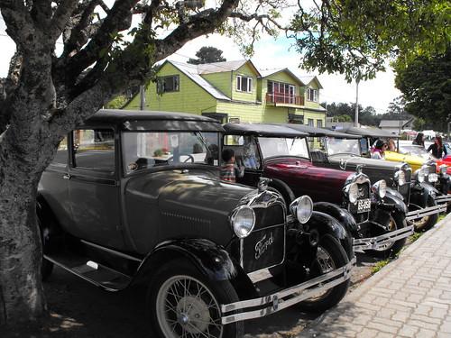 Autos clasicos en Frutillar