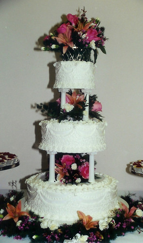 ThreeTier Wedding Cake with
