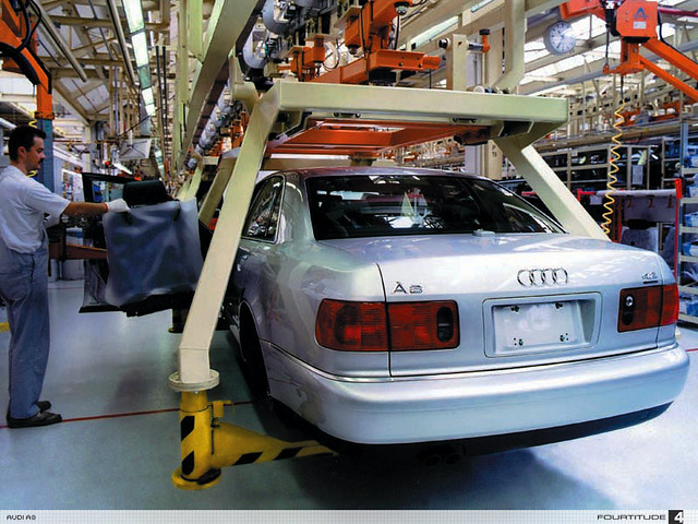 production audi a8