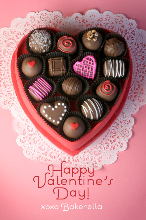 A Valentine S Day Gift Box Of Bakerella Com