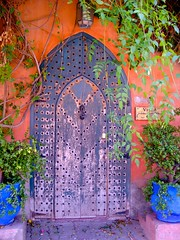 Moroccan House Door (L F Ramos-Reyes) Tags: africa travel architecture doors morocco maroc picturesque amazingcolors colorphotoaward overtheexcellence colorsinourworld expressyourselfaward theauthorsplaza