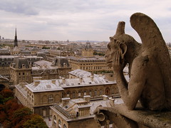 Just hanging out here over the centuries... (Σταύρος) Tags: above city roof vacation holiday paris rooftop church wet pool statue architecture clouds design view cathedral candid basilica gothic bored overcast landmark lookout chillin notredame drain gargoyle chiesa explore paparazzi spout rtw daydream gothique eglise notredamedeparis gargouille churche hangingout vacanze downspout waterdrain waterspout roundtheworld victorhugo notredamecathedral atop lookingout gothicarchitecture globetrotter ourlady gothicchurch houseofworship gothicstyle εκκλησία worldtraveler explored ourladyofparis diekirche gargoylewithwings καθέδρα
