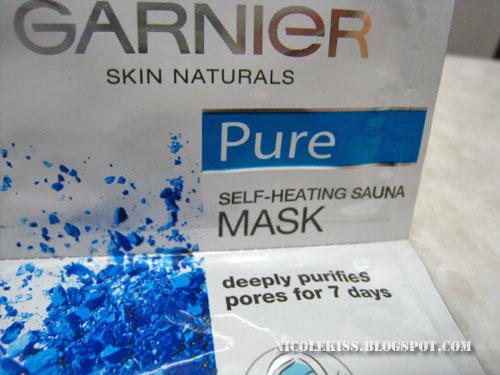 self heating sauna mask