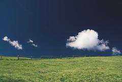 Somerset Landscape - Blue Sky