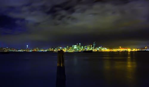 Dynamic HDR 4 Seattle Night