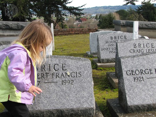 tiptoeing through the graves