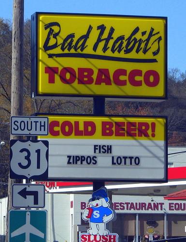 Bad Habits store