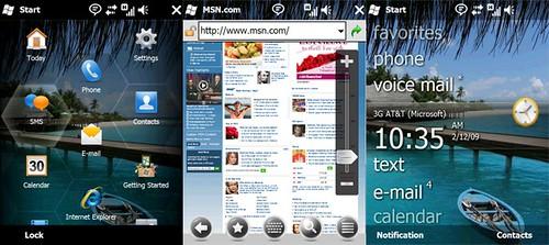 C'est pour qui la mise à jour Windows Mobile 6.5 ???