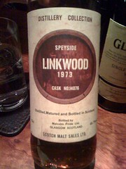 SPEYSIDE LINKWOOD 1973 CASK