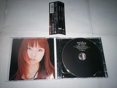 原裝絕版 2003年 11月5日 安倍麻美 wishes CD 加 DVD 原價 3400yen 中古品 2