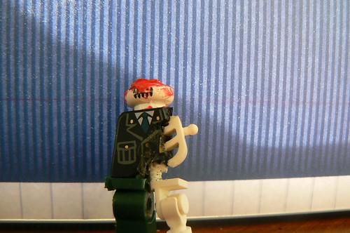 Amazing Lego custom zombie minifig