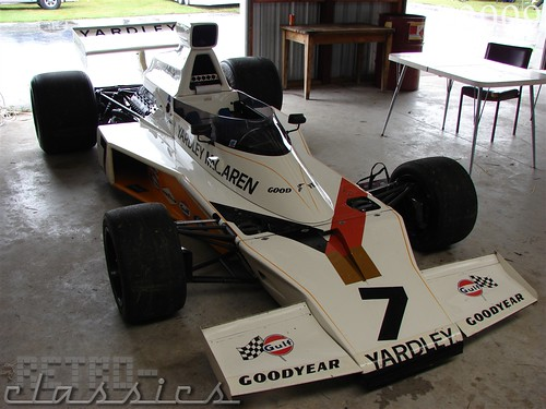 1973 M23 Yardley McLaren F1 Car