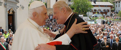 Incontro con il Santo Padre a Lorenzago