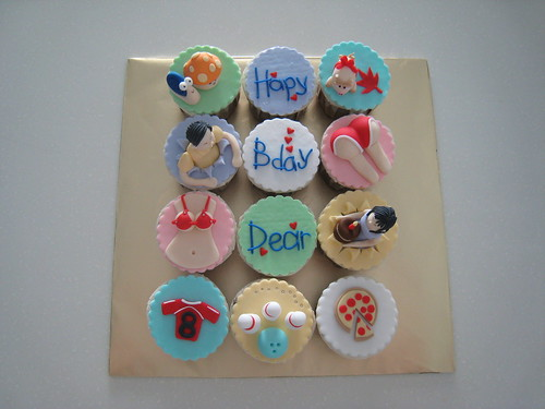 Special birthday cuppies!