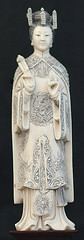 China  - 1910-20  (Quing Dynasty)  Regal Lady of the Court (ivory) (RasMarley) Tags: china ivory figure 1910s realism quingdynasty regalladyofthecourt