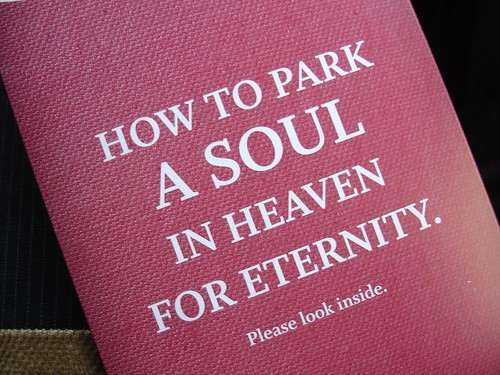 How to parc a soul in heaven for eternity