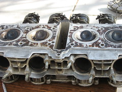 IMG_0146 (ewokfarmer) Tags: honda head cylinder gasket scrape cb550