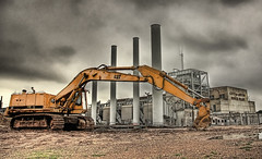 Seaholm Power Plant - Breaking Ground (CraigAllen) Tags: plant austin texas power d70s hdr lucisart seaholm craigallen