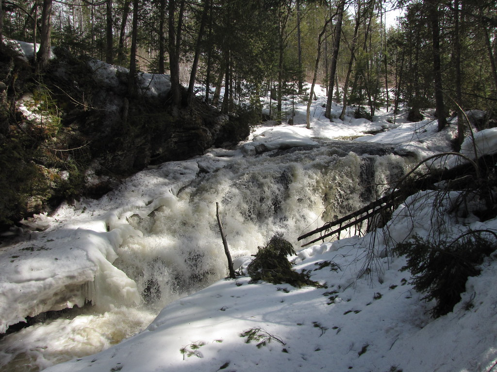 Half frozen falls