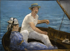 Boating, 1874 (Maulleigh) Tags: new museum painting boating met metropolitan metropolitanmuseum manet 1874 édouard