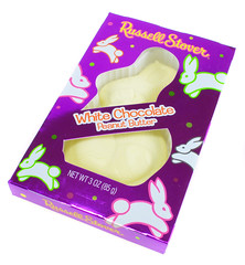 Russell Stover White Chocolate Peanut Butter Rabbit