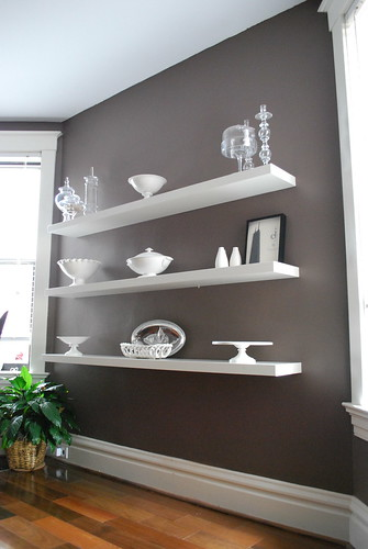 Dining room shelf ideas