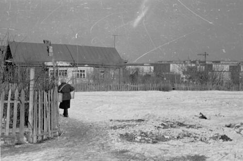 Building Moscow, 60s//Новые черемушки строятся, 60е