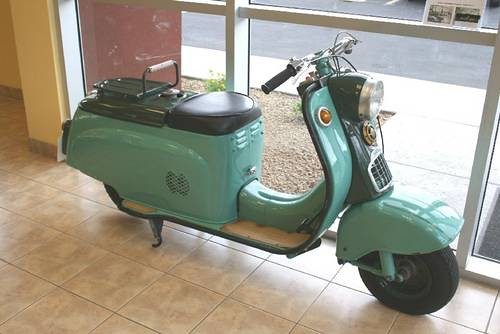 1959 c90 Silver Pigeon
