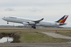 CYVR PH A340-300 RP-C343I (wings777) Tags: canada vancouver airport airbus airlines yvr a340 philippine a340300 a343 cyvr
