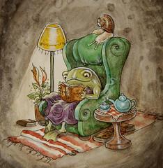 Frog's Quiet Night In