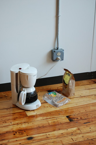 Low-tech coffee