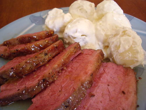 Corned Beef and Sour Cream Potatoes