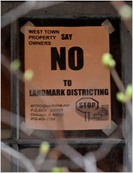 No to Landmark Districting