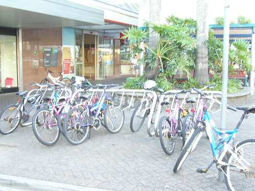 ケアンズの自転車