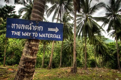 The Way to Waterfall