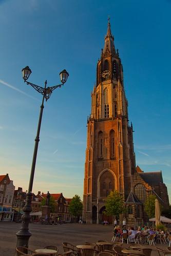 Nieuwe Kerk, Delft por toffiloff.