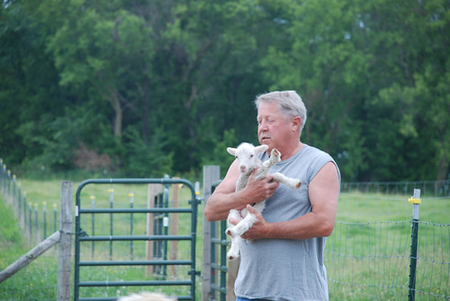 Father in Law with Lamb
