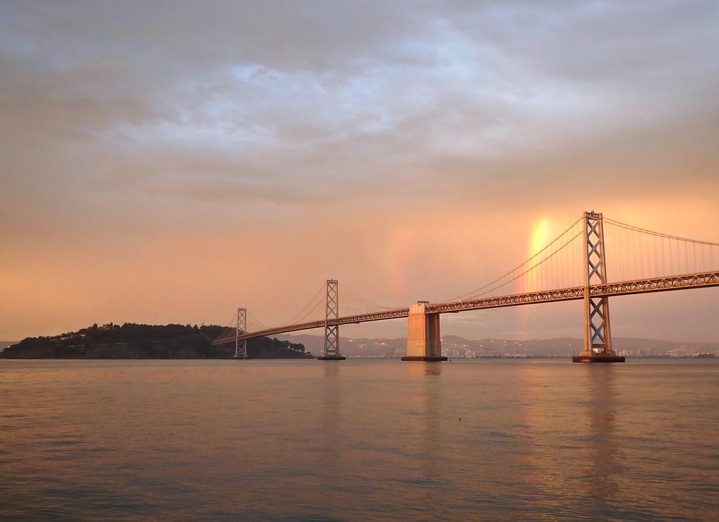 Double Rainbow on San Francisco Bay