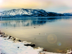 Existence of divinity.. (Himanshu ~) Tags: california city usa lake snow mountains water birds hail diamonds carson crystal united nevada tahoe sierra glacier glaze springs icicle states iceberg cupid chunk pure hailstone icecube permafrost dryice floe sleet aplusphoto cubeice
