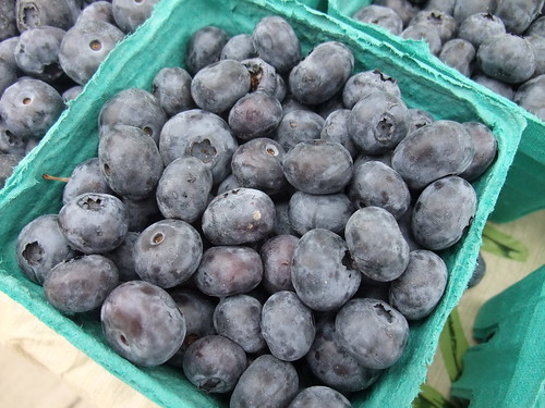 Blueberries from H-W Organics