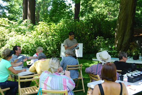 Riz Lectures for NHS at Dunn Garden