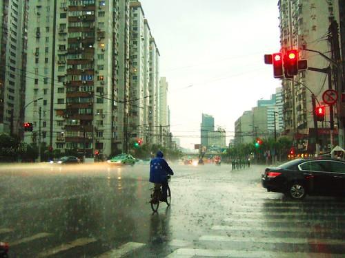 Sudden Rain @ Shanghai