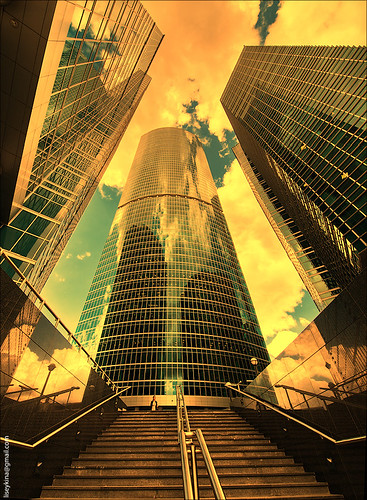 """Business center """"Moscow City"""""""