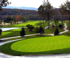 "GOLF COURSE - ""THE GREENBRIER"" - WHITE SULPHUR SPRINGS, WEST VIRGINIA, USA (silverhawk42532) Tags: new its golf course and thegreenbrier"