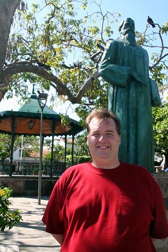 Mike in Los Arcos Plaza - Puerto Vallarta