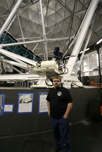 Me at Hobby-Eberly Telescope