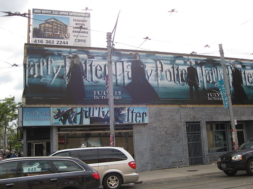 Harry Potter Advertising - Exterior
